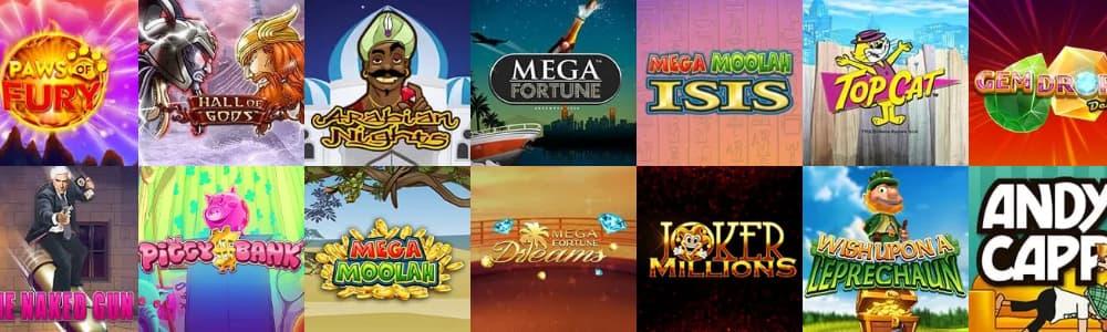 Free online slot machine games